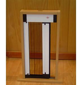 Ventanas de aluminio pvc puertas mamparas aluminios for Mosquiteras plisadas para puertas